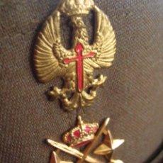 Militaria: GORRA DE FAENA O MANIOBRAS DE TENIENTE GENERAL. ORIGINAL 100%. INDUSTRIAS VALLE. EPOCA DE TRANSICIÓN. Lote 85898096