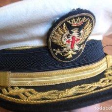 Militaria: RARA GORRA DE GALA DE GENERAL DE DIVISIÓN. ANTIGUO DIVISIONARIO. DIVISION AZUL. EPOCA DE FRANCO.. Lote 85898776
