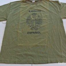 Militaria: CAMISETA DEL EJERCITO ESPAÑOL TALLA M . Lote 85933284