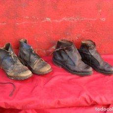 2 pares botas militar años 60,usadas
