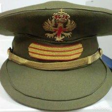 Militaria: GORRA DE PLATO DE SARGENTO EJERCITO DE TIERRA. Lote 87288572