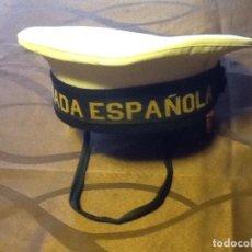 Militaria: GORRA ARMADA ESPAÑOLA. Lote 87490236