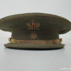 Militaria: GORRA DE PLATO - MILITAR - COMANDANTE - EJERCITO ESPAÑOL - ORIGINAL. Lote 89039464