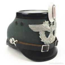 Militaria: TCHAKO DE POLICÍA DEL TERCER REICH (ALEMÁN). SEGUNDA GUERRA MUNDIAL.. Lote 89196848