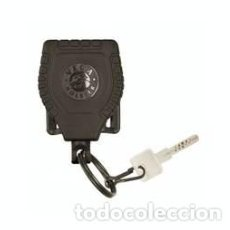 Militaria: GENIAL LLAVERO EXTENSIBLE STANDAR EN COLOR NEGRO -ULTIMOS EN STOCK. Lote 89424492