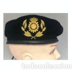 Militaria: ESTUPENDA BOINA NEGRA TEDAX ESCALA SUPERIOR DE LA POLICIA NACIONAL TALLAS 54 A LA 60. Lote 89782376