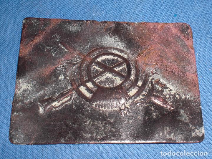 HEBILLA INFANTERIA GUERRA CIVIL (Militar - Cinturones y Hebillas )