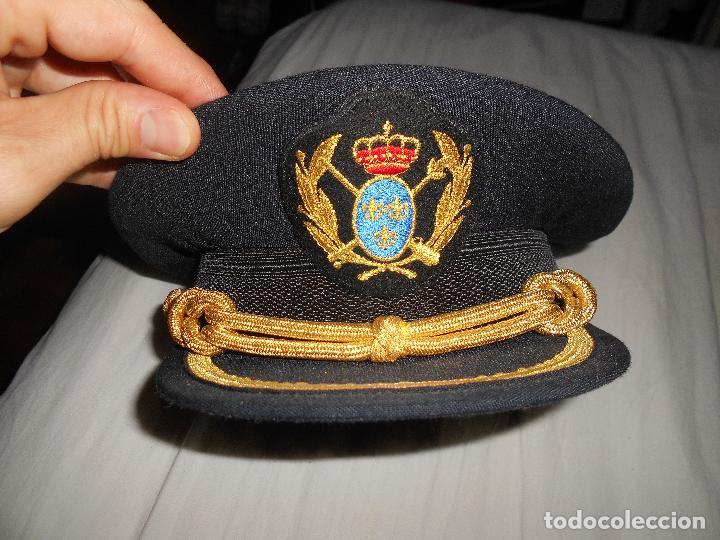 Militaria: GORRA PALAS UNIFORME REALES TERCIOS DE ESPAÑA DE LEANDRO DE BORBON INFANTE REAL AÑOS 80 90 - Foto 4 - 90841265