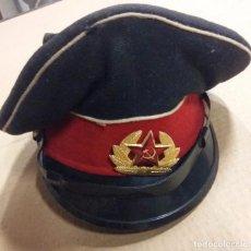 Militaria: GORRA DE PLATO RUSA, TALLA 56. Lote 7731494