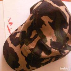 Militaria: GORRA MILITAR CAMUFLAJE NUEVA SIN USO - ENVIO INCLUIDO A ESPAÑA. Lote 91043190