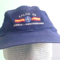 Militaria: GORRA. EALOG XII. BOSNIA I HERZEGOVINA.. Lote 91087638