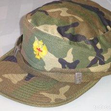 Militaria: GORRA MILITAR. EJÉRCITO ESPAÑOL. CAMUFLAJE BOSCOSO. TALLA M VALLE. REGULABLE. 100 GR. Lote 92297840