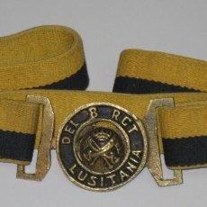 Militaria: CINTURÓN REGIMIENTO CABALLERÍA LUSITANIA 8. Lote 92311220