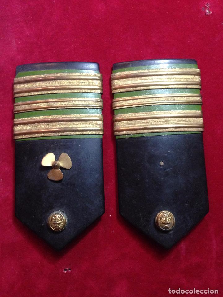 GALONES,PALAS DE COMANDANTE DE MAQUINAS,EPOCA DE FRANCO (Militar - Otros relacionados con uniformes )
