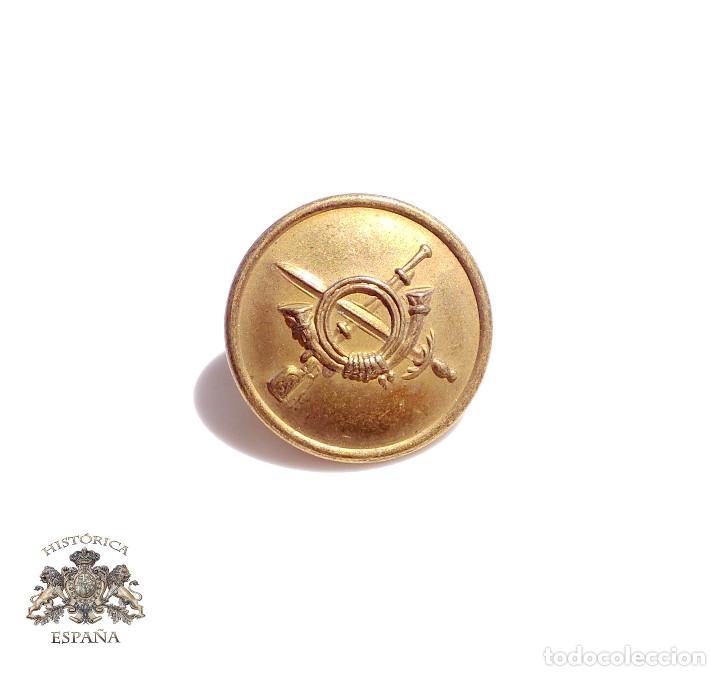 BOTÓN INFANTERÍA REPÚBLICA 2,2 CM DE DIÁMETRO (Militar - Botones )