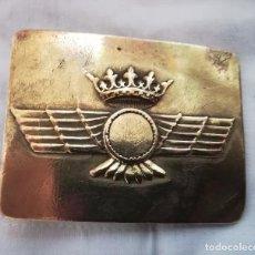Militaria: HEBILLA DE AVIACIÓN, REGLAMENTO DE 1946, EJÉRCITO DEL AIRE. Lote 93802895
