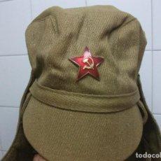 Militaria: GORRO ORIGINAL RUSO TALLA 57 PERFECTO ESTADO ¡¡¡. Lote 94071755