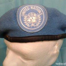 Militaria: BOINA ONU CASCOS AZULES ALEMANIA. Lote 94083105