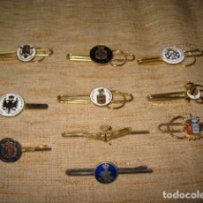 Militaria: LOTE SUJETACORBATAS O CLIP SUJETA BILLETES DE LA MARINA. Lote 94528214