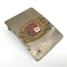 Militaria: HEBILLA DE LA ESCOLTA DE FRANCO. ORIGINAL DE ÉPOCA.. Lote 94595071