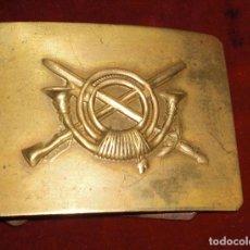 Militaria: HEBILLA INFANTERIA GUERRA CIVIL PERFECTA. Lote 94693463