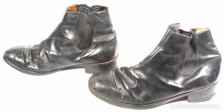 Militaria: Botines para uniforme de paseo – gala, original aleman Segunda Guerra Mundial - Foto 2 - 94763607