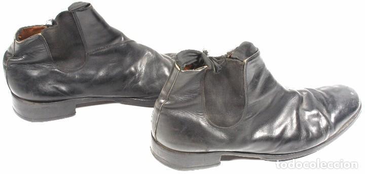 Militaria: Botines para uniforme de paseo – gala, original aleman Segunda Guerra Mundial - Foto 3 - 94763607
