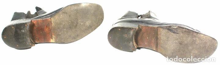 Militaria: Botines para uniforme de paseo – gala, original aleman Segunda Guerra Mundial - Foto 4 - 94763607