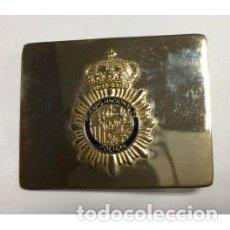 Militaria: HEBILLA CUERPO NACIONAL DE POLICÍA PARA CINTURÓN DE GRAN GALA. Lote 121452492