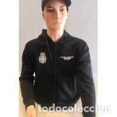 Militaria: ESTUPENDA SUDADERA TALLA L CON CREMALLERA DEL CUERPO NACIONAL DE POLICÍA TODAS TALLAS CON CAPUCHA. Lote 152253566