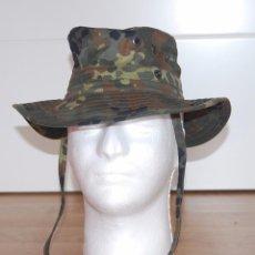 Militaria: GORRO DE CAMUFLAJE TIPO BOONIE EJERCITO ALEMAN (BUNDESWEHR) TALLA 51. Lote 95622115