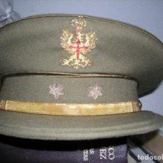 Militaria: GORRA DE PLATO DEL EJERCITO TIERRA GENERAL. Lote 95883563