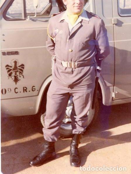 Militaria: Periodo de transición de las CRG de la P. Armada a la P. Nacional, con botas de tres hebillas. - Foto 11 - 96377867
