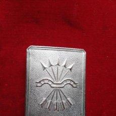 Militaria: HEBILLLA CINTURON FALANGE. Lote 96445903