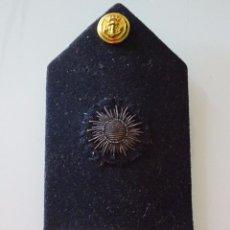 Militaria: ANTIGUA HOMBRERA PALA MILITAR. ARMADA MARINA. AÑOS 50 60. 60 GR. Lote 96556067