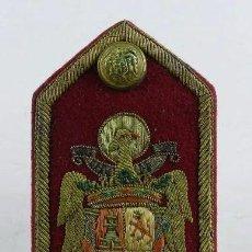 Militaria: HOMBRERA DEL REGIMIENTO DE LA GUARDIA DE SU EXCELENCIA EL JEFE DEL ESTADO Y GENERALISIMO DE LOS EJE. Lote 96574339