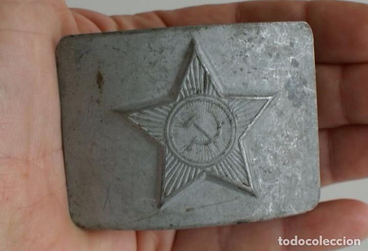 Militaria: LOTE DE TRES HEBILLAS MILITAR - Foto 3 - 96673787
