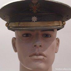 Militaria: GORRA DE COMANDANTE DEL EJERCITO DE TIERRA TRANSICIONAL. Lote 96942619