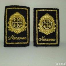 Militaria: PAREJA DE MANGUITOS BORDADOS PARA UNIFORME DE LA HERMANDAD DEL NAZARENO.. Lote 97016043