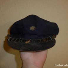 Militaria: ANTIGUA GORRA DE MARINA REPUBLICANA, ORIGINAL. REPUBLICA Y GUERRA CIVIL. CON RARO BORDADO.. Lote 97526603