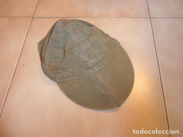 Militaria: Antigua gorra militar a identificar - Foto 2 - 97715043