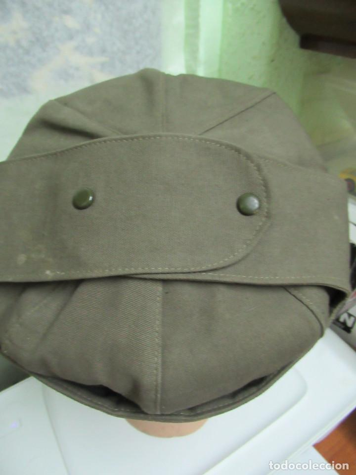 Militaria: Antigua gorra de correos. fabricada por Gorras Alcaraz. Madrid. años 60 - Foto 3 - 97964691
