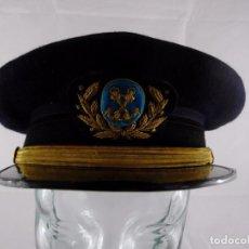 Militaria: GORRA MARINA MERCANTE - OFICIAL DE RADIO (AÑOS 40'S). Lote 97976487