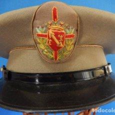 Militaria: REGIMIENTO DE LA GUARDIA DE S.E. EL JEFE DEL ESTADO. GORRA TROPA.. Lote 98550855