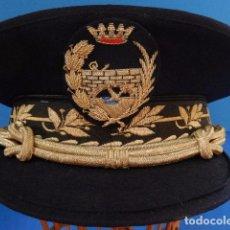 Militaria: GORRA DE INGENIERO TÉCNICO. PUERTOS Y CAMINOS. ÉPOCA DE FRANCO. MALLORCA.. Lote 98569051
