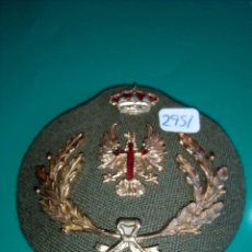 Militaria: GALLETA DE GORRA DEL EJERCITO ESPAÑOL. Lote 98722043