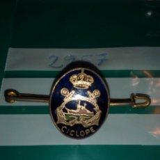 Militaria: PISACORBATAS REMORCADOR CICLOPE. Lote 98722571