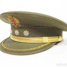 Militaria: GORRA DE PLATO DE CORONEL DEL EJERCITO DE TIERRA DE LA PRIMERA ÉPOCA DE JUAN CARLOS. AÑOS 70. Lote 98918527