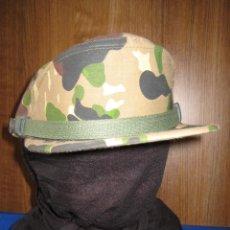 Militaria: ANTIGUA GORRA CAMUFLAJE 'ROCOSO' USADA POR LAS COES, LA BRIPAC Y LA LEGIÓN. 1980. TALLA 55. ORIGINAL. Lote 99103739