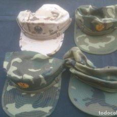 Militaria: COLECCION GORRAS DE FAENA. EJERCITO DE TIERRA.. Lote 208448922